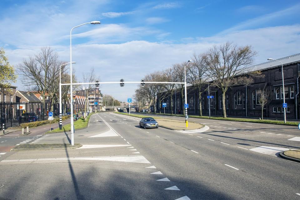 De te versmallen en vergroenen Oostersingelgracht.