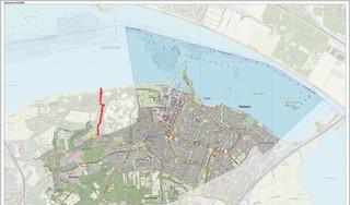 CDA Huizen pleit voor grenscorrectie: 'Bij de Driftweg hebben we wel de lasten, maar niet de lusten'