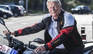 76-jarige Hank haalt rijbewijs voor zware motor: 'Ik ben misschien wel hartstikke gek dat ik dit wilde, maar ben ook een doorzetter'