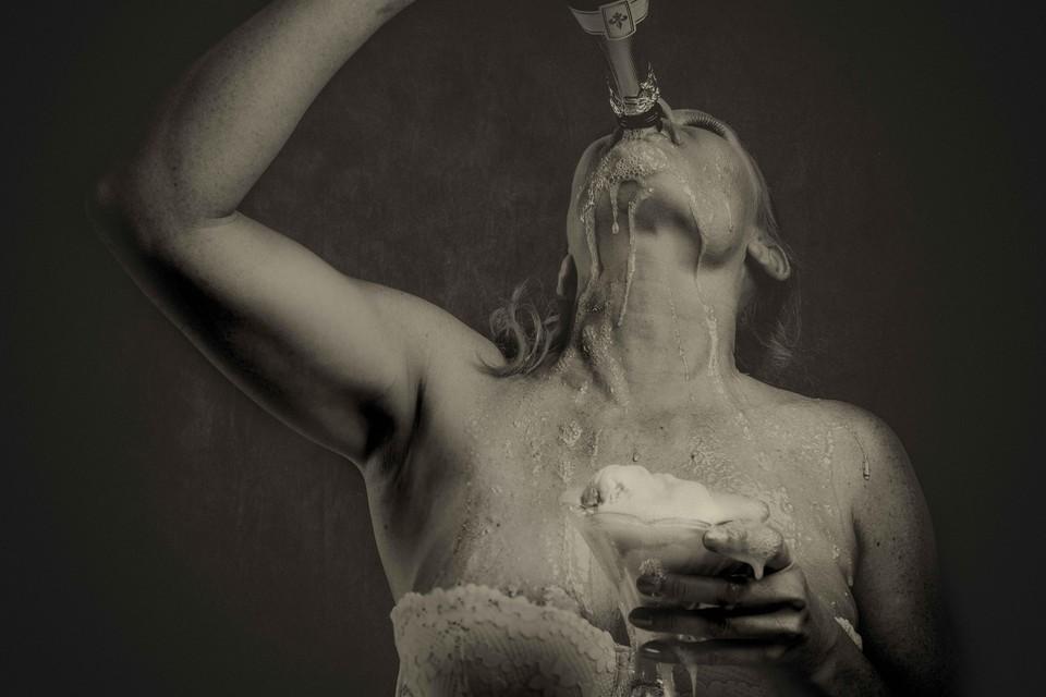 De winnende foto van Saskia de Wal.