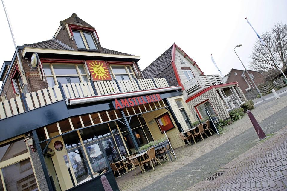 Café de Zon is steevast een belangrijke plek tijdens het toernooi Tata Chess.