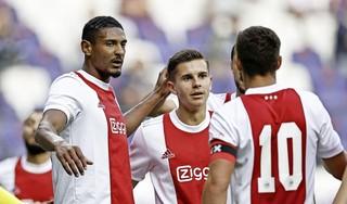 Haller helpt Ajax in oefenwedstrijd langs Anderlecht [video]