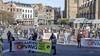 Demonstratie in Haarlem tegen asowoningen: 'Als het moet gaan we naar de Raad van State'