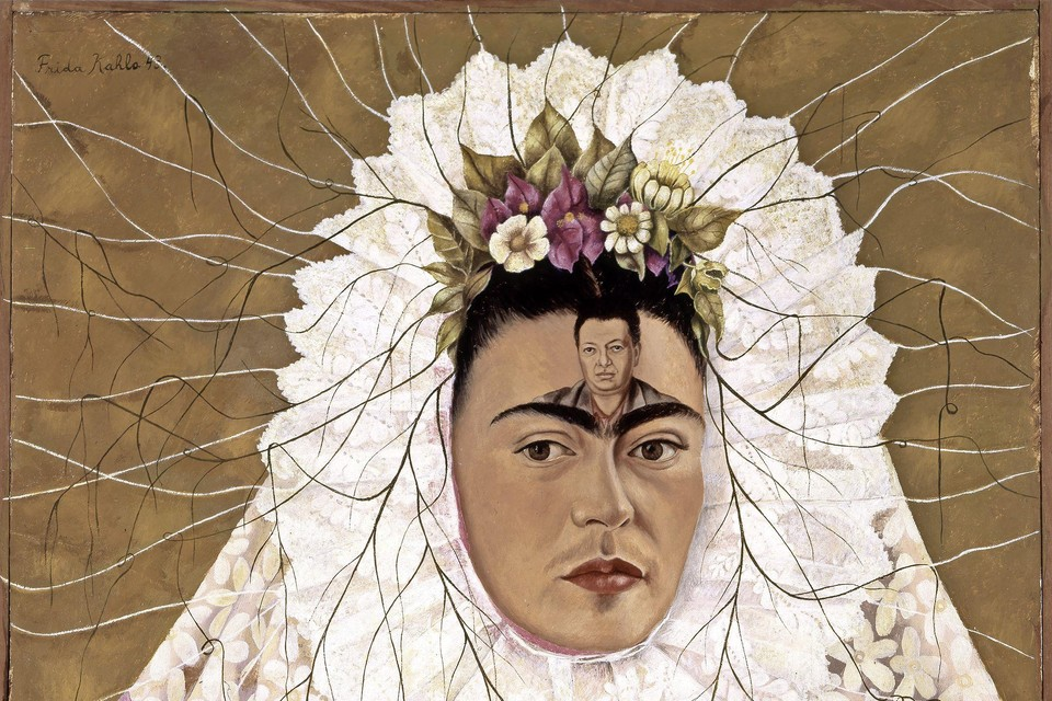 Frida Kahlo, Diego on my mind (Self-portrait as Tehuana), 1943 Courtesy of The Jacques and Natasha Gelman Collection of 20th Century Mexican Art and The Vergel Foundation.