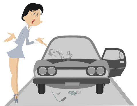 Overhoop met de autoleasemaatschappij