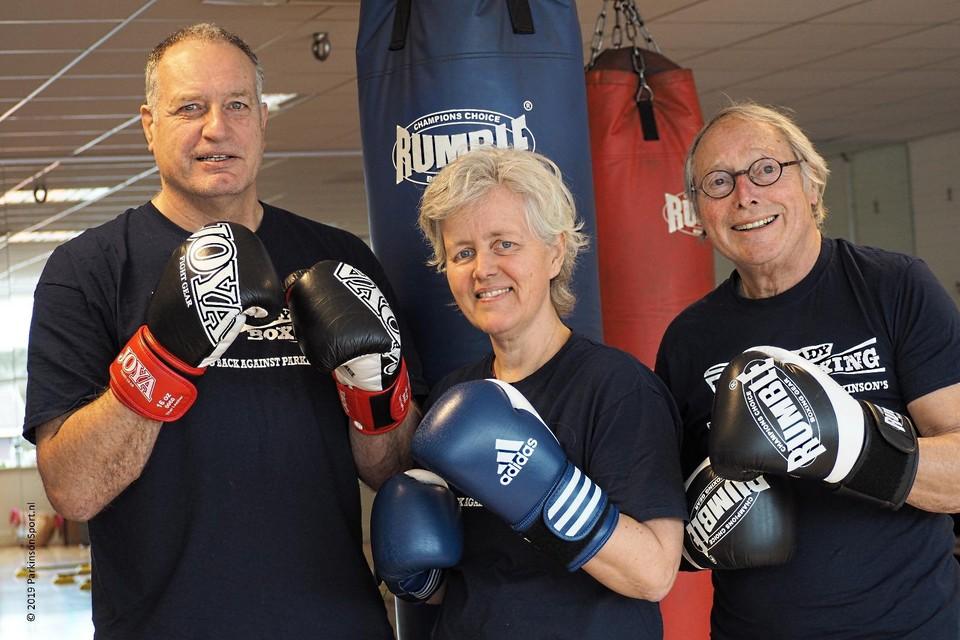 Vlnr: Wim Rozenburg, Mariëtte Robijn en Jan Groothuis