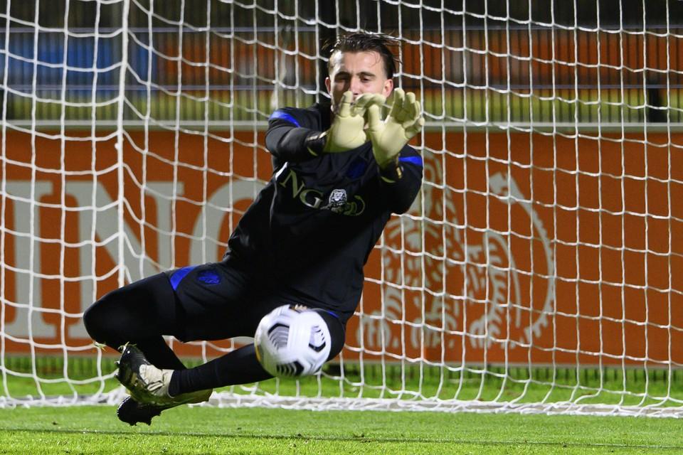 Joël Drommel werd opgeroepen voor Oranje vanwege het afmelden van Jasper Cillessen en Justin Bijlow.