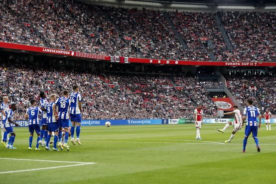 KNVB: Huntelaar krijgt openingstreffer Ajax