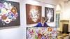 'Eindelijk kunnen we weer publiek uitnodigen voor onze exposities.' Niets dan kleur in Raadhuis voor de Kunst in Oud-Velsen