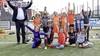 Clinics voor de jeugd bij Oranjefestival van HSV de Zuidvogels in Huizen: 'Meiden vinden voetballen vooral gezellig'; 'Stilstaan hoort ook bij de training op kunstgras'